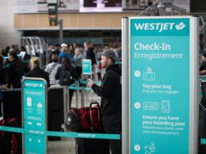 Westjet check-in