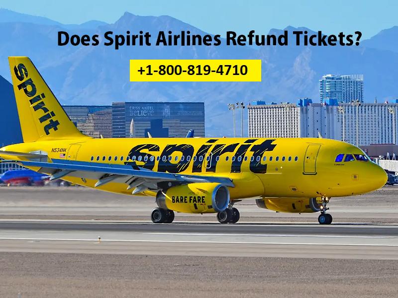 Does-Spirit-Airlines-Refund-Tickets