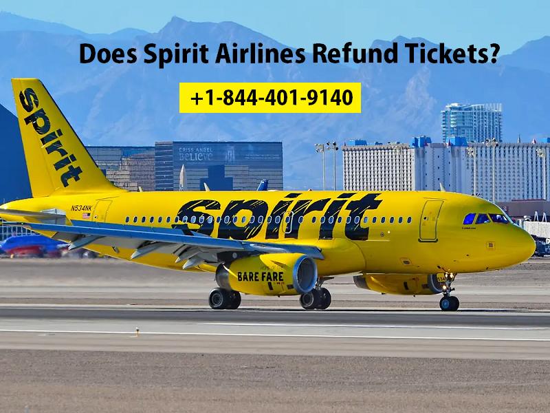 Does Spirit Airlines Refund Tickets?