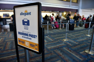 Allegiant Airlines Online Check-in