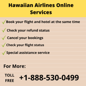 Hawaiian Airlines Online Services