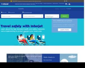 Interjet Airlines official site
