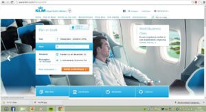 KLM Airlines Official Site