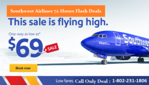 Southwest Airlines Booking