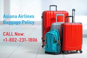 asiana airlines baggage policy