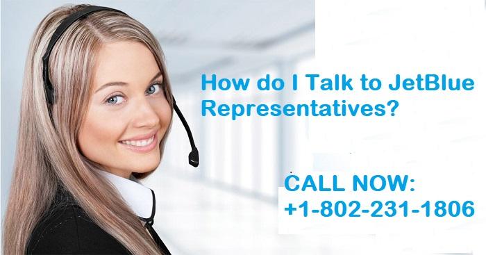 How do I Talk to a JetBlue Representative
