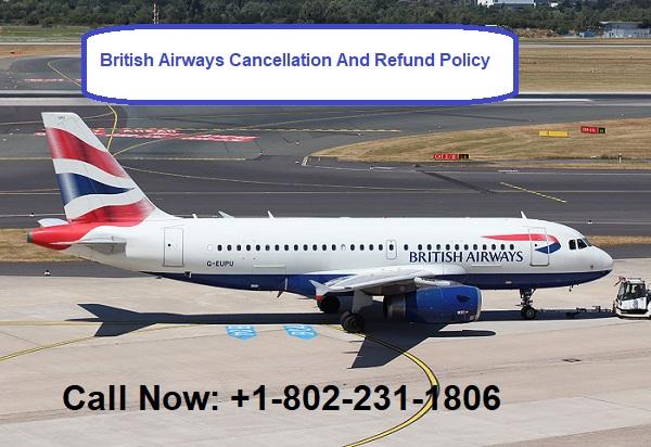 british airways cancellation policy