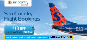 sun country airlines booking