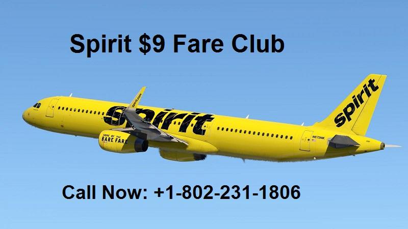 spirit $9 fare club